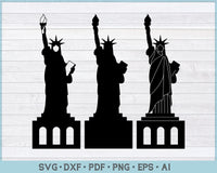 Statue Of Liberty SVG, PNG Printable Cutting files
