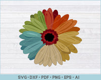 Sunflower SVG, Autism sunflower Awareness SVG, PNG Print Ready Cutting Files