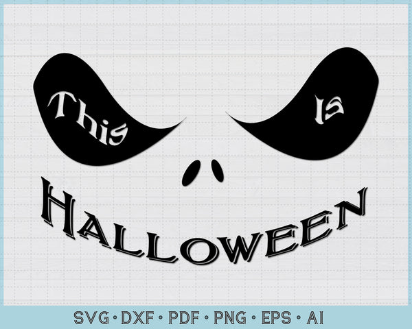 This is Halloween SVG, PNG Printable Cutting files