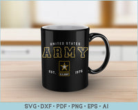United States Army est 1975 SVG, PNG Printable Cutting files