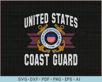 United States Coast Guard SVG, PNG Printable Cutting Files