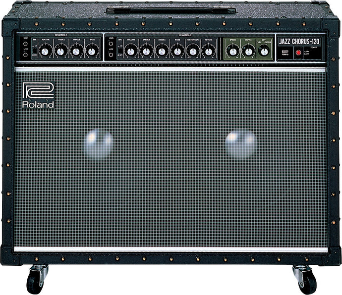 Roland Jazz Chorus, the most iconic solid state guitar amplifier ever