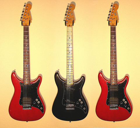 Fender Lead Series Guitars