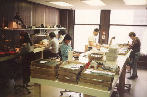 early 90s tech21 sansamp manufacturing