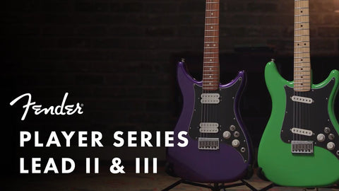 Fender Lead Series guitars 2020