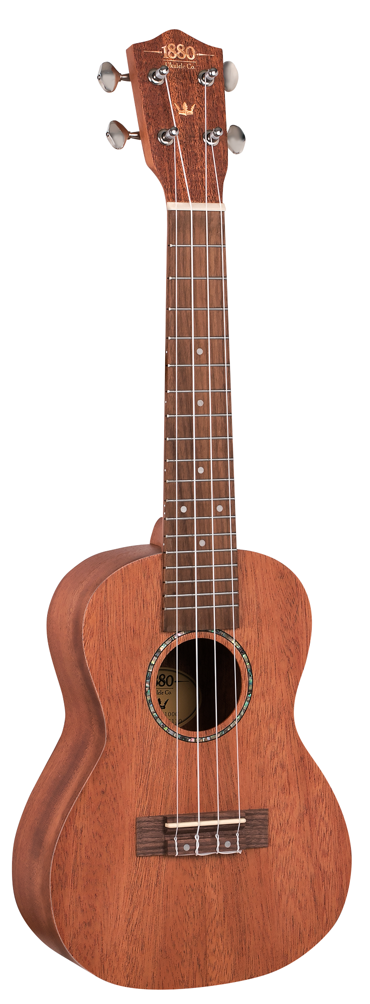 1880 UKULELE CO. 100 Series Concert Ukulele