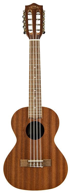 Lanikai Mahogany Series 8-String Tenor Ukulele in Natural Satin Finish