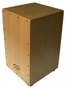 Opus Percussion Wooden Cajon in Birch with Deluxe Carry Bag