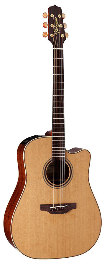 Takamine Custom Pro Series 3 Dreadnought AC/EL Guitar with Cutaway