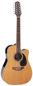Takamine Thermal Top Series 12-String Dreadnought AC/EL Guitar with Cutaway