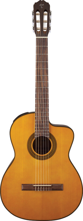 Takamine GC1 Series AC/EL Classical Guitar with Cutaway