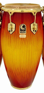 "Toca LE Series 11-3/4"" Wooden Conga in Firestorm"