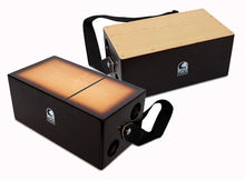 Load image into Gallery viewer, Toca Bongo Flip Cajon in Brown Sunburst Satin Finish