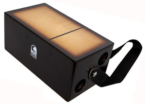 Toca Bongo Flip Cajon in Brown Sunburst Satin Finish