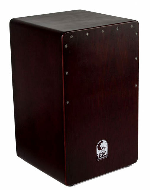 Toca Flamenco Mahogany Bass Reflex Cajon with Fixed Snare