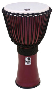 "Toca Freestyle 2 Series Djembe 14"" in Red"
