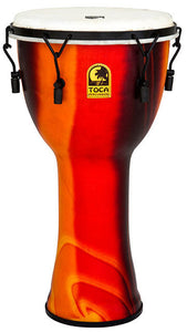 "Toca Freestyle 2 Series Mech Tuned Djembe 12"" in Fiesta"