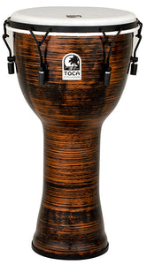 "Toca Freestyle 2 Series Mech Tuned Djembe 12"" in Spun Copper"