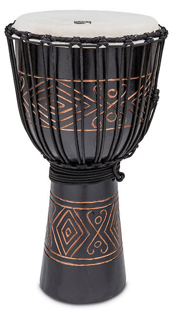 Toca Street Carved Series Wooden Djembe 12