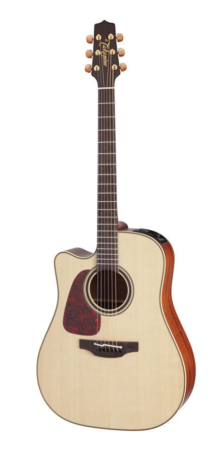 Takamine Pro Series 4 Left Handed Dreadnought AC/EL Guitar with Cutaway