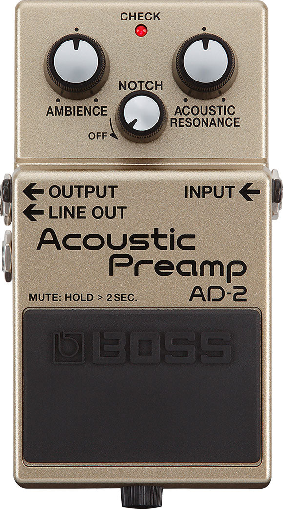 Boss AD-2 Acoustic Instrument Processor