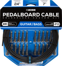 Load image into Gallery viewer, BOSS BCK-24  Pedalboard cable kit