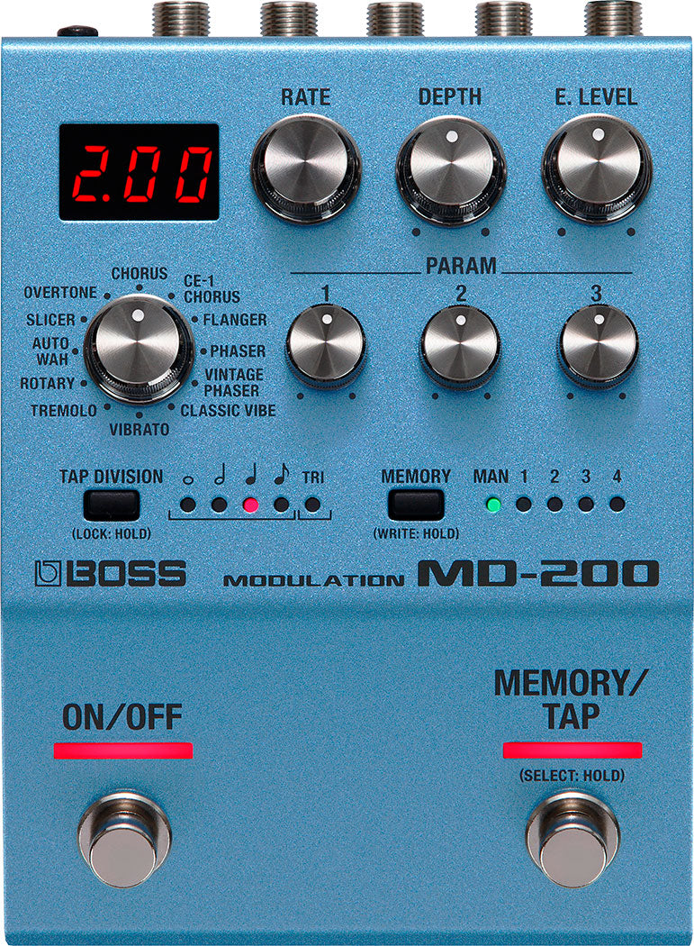 Boss MD200 Modulation