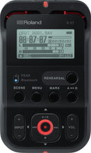 Load image into Gallery viewer, Roland R07 Portable Recorder BLACK