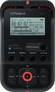 Roland R07 Portable Recorder BLACK