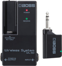 Load image into Gallery viewer, Boss WL-50 GUITAR WIRELESS SYSTEM