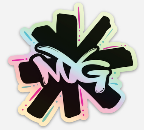 MYG HOLOGRAPHIC sticker