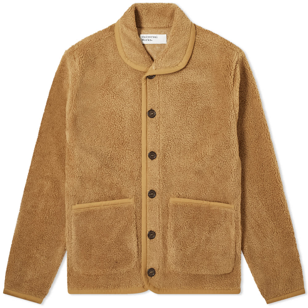 Jacket- Lancaster Fleece (Sand) - Illinois Gent