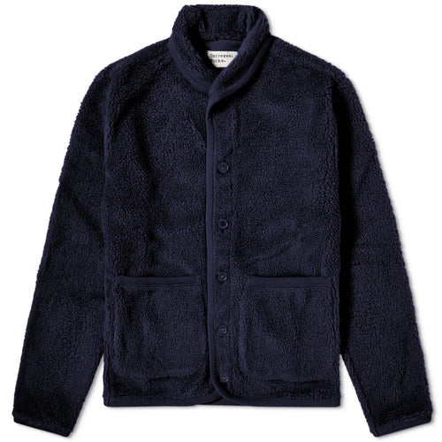 Jacket- Lancaster Fleece (Navy) - Illinois Gent