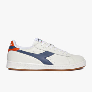 Sneakers - Game Low (White / Dark Denim / Rust) - Illinois Gent
