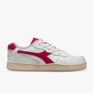 Sneakers - Mi Basket Low Used (Red) - Illinois Gent