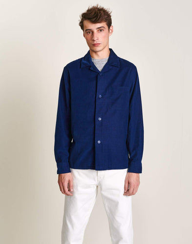 Overshirt - Goney (Blue) - Illinois Gent