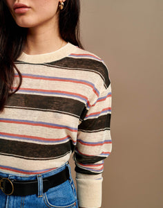 T-shirt - Senia (Stripe) - Illinois Gent