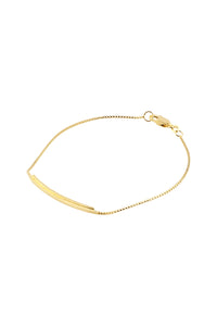 Armband - Semi Flexible IA2 (Gold plated silver) - Illinois Gent