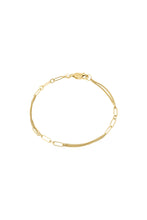 Afbeelding in Gallery-weergave laden, Armband - Chain JA1 (Gold plated silver) - Illinois Gent