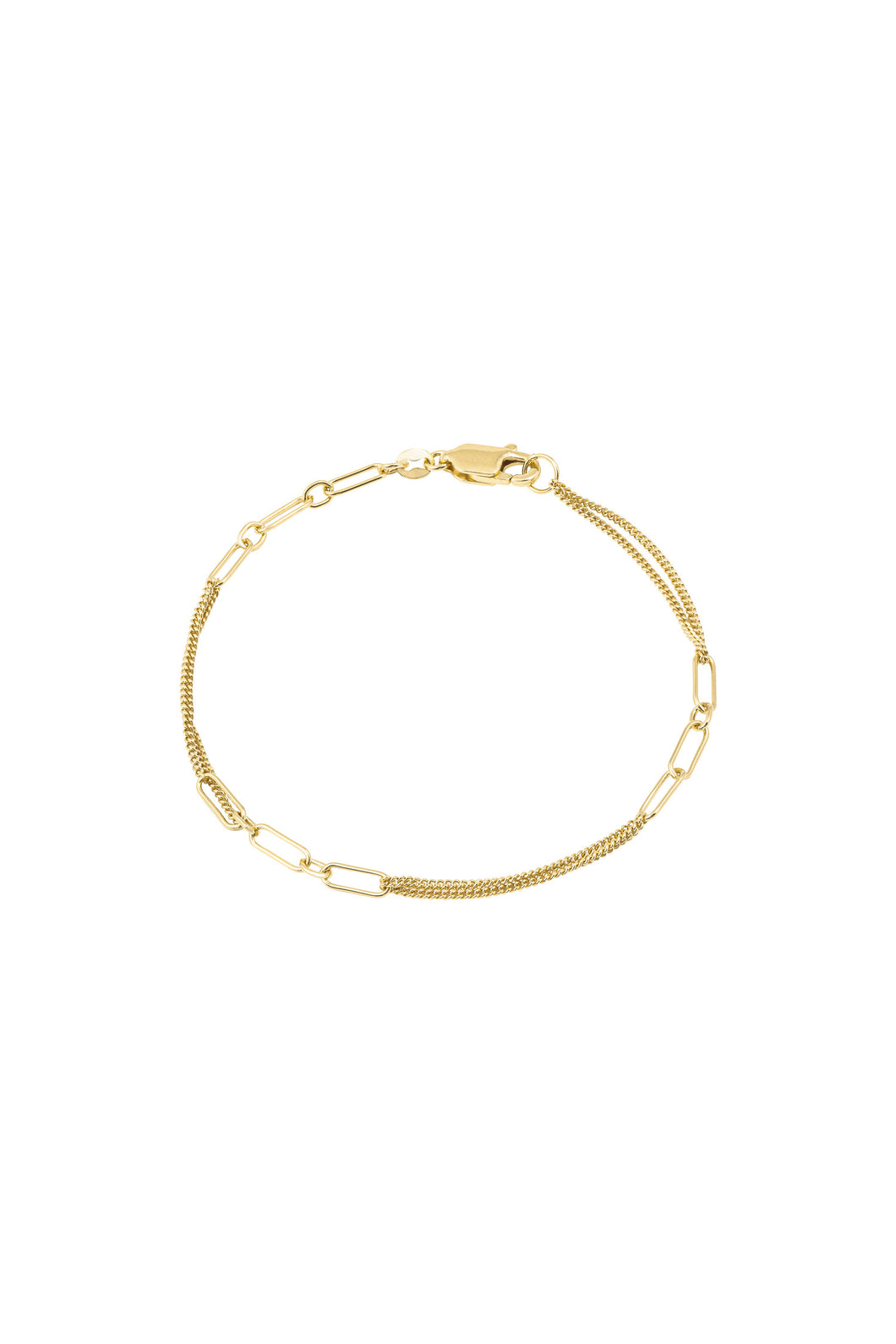 Armband - Chain JA1 (Gold plated silver) - Illinois Gent