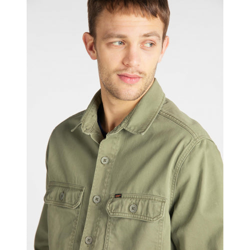Overshirt - Workwear (Army) - Illinois Gent