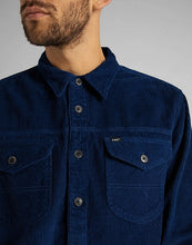 Afbeelding in Gallery-weergave laden, Overshirt -Loco Patch (Corduroy Blue) - Illinois Gent