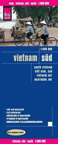 Reise Know-How Landkarte Vietnam Süd (1:600.000)