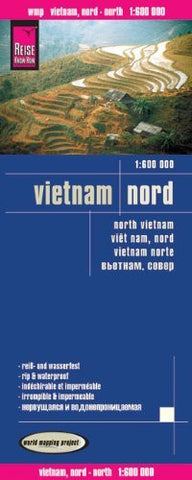 Reise Know-How Landkarte Vietnam Nord (1:600.000)