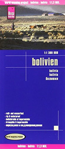 Reise Know-How Landkarte Bolivien (1:1.300.000)