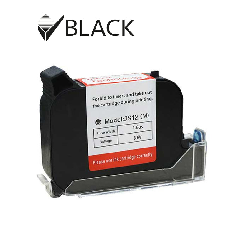 Rotech Ink Cartridge -  JS12 Black 35ml
