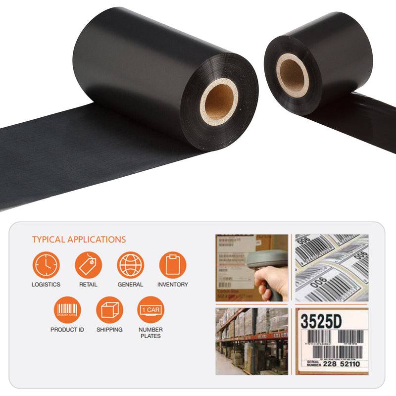 Rotech Standard Wax Thermal Transfer TT Ribbon UK. RT100