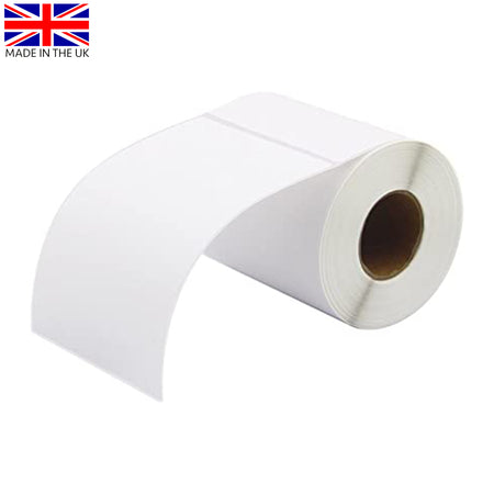 Plain White Desktop Thermal Transfer Label 38mm x 25mm (Box of 12)