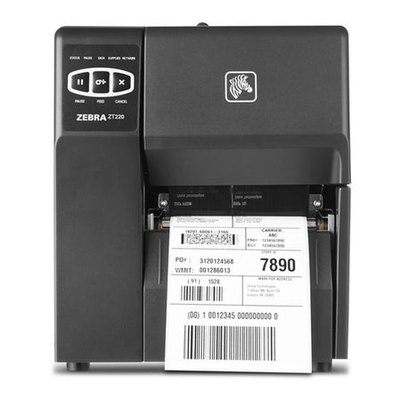 Zebra ZT220 Direct Thermal Industrial Label Printer 203dpi ZT22042-D0E200FZ
