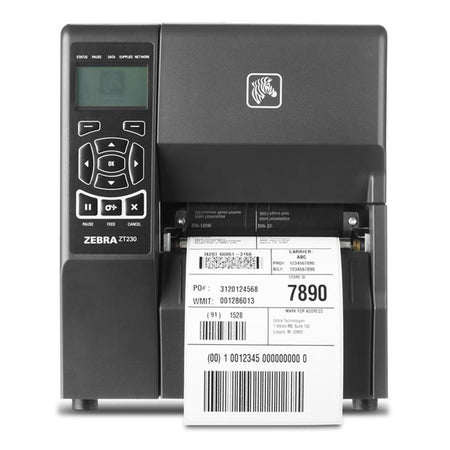 Zebra ZT230 Direct Thermal Industrial Label Printer 203dpi ZT23042-D0E200FZ